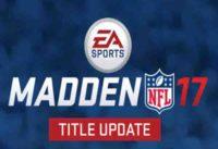 madden 17 update