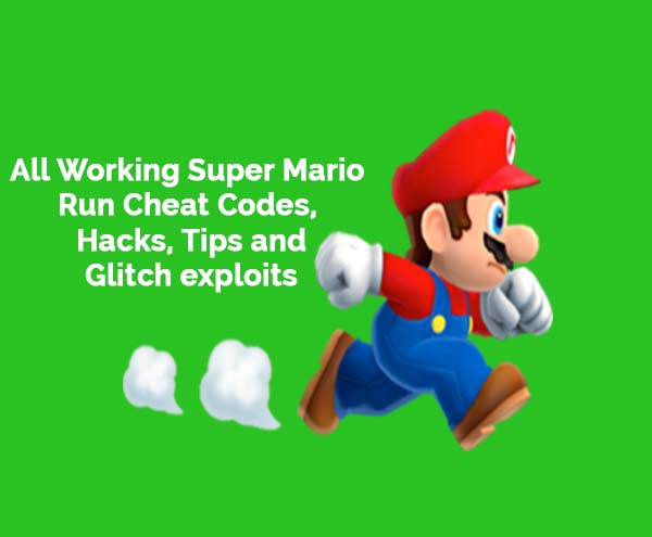 super mario run working cheat codes
