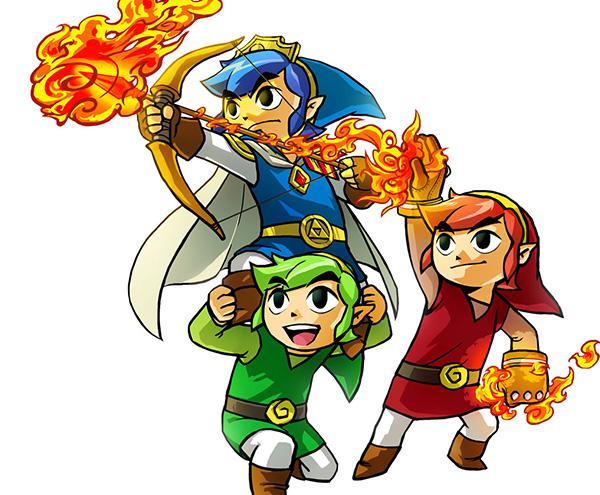 legend of zelda triforce heros