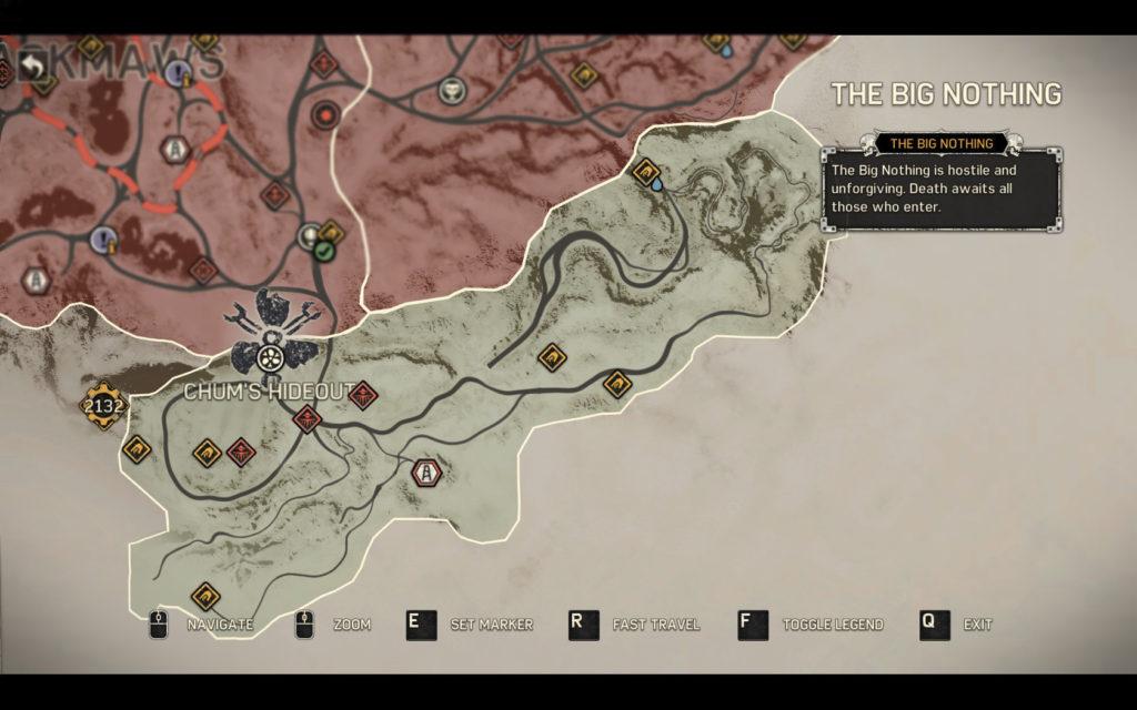 chum's hideout minefields