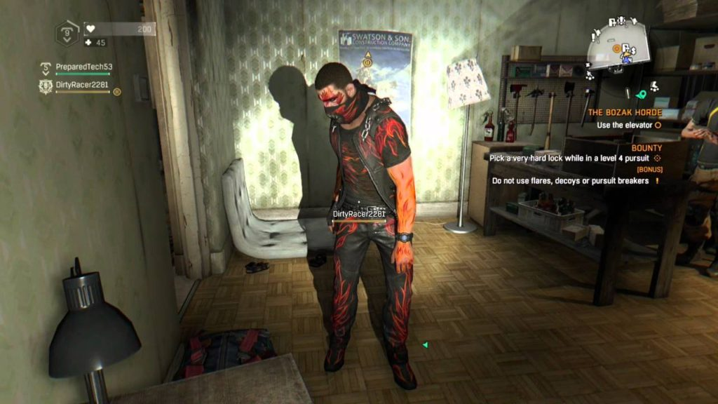 dying light outfits