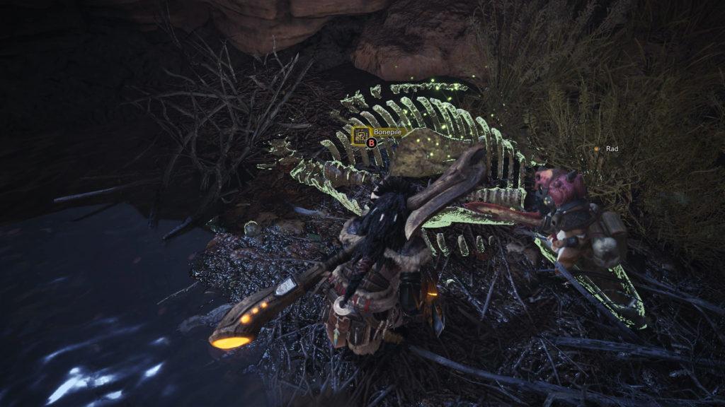 warped bone monster hunter world