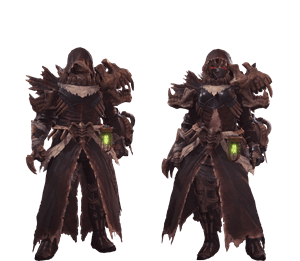 death stench armor from monster hunter world sinister cloth