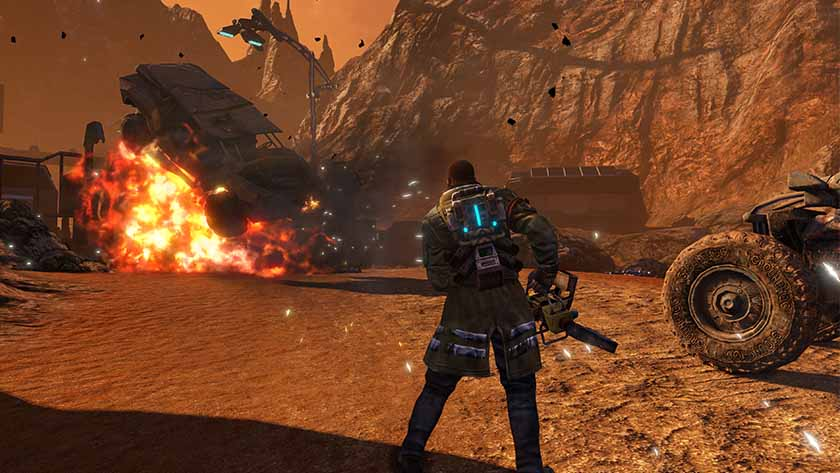 red faction guerrilla console commands