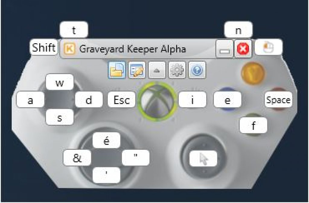 graveyard keeper keysticks custom profile