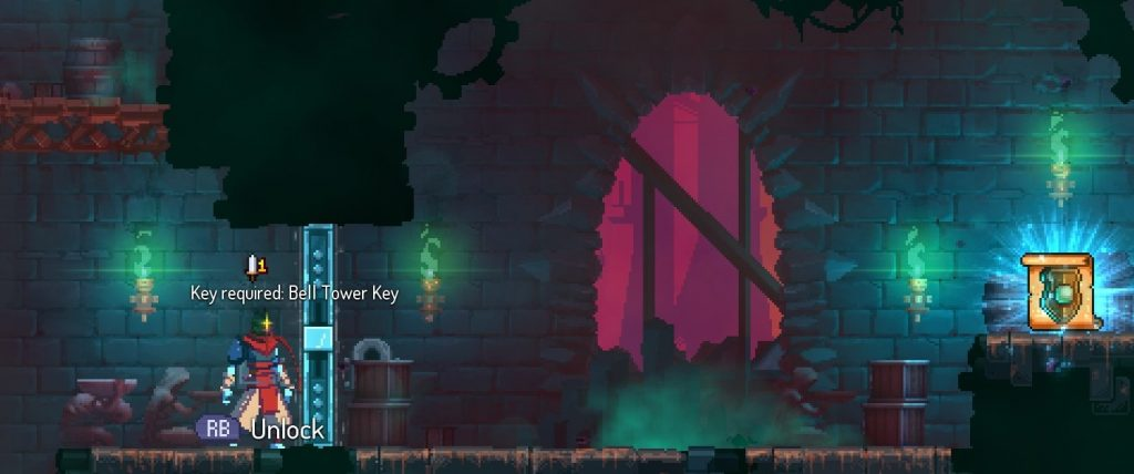 dead cells bell tower key