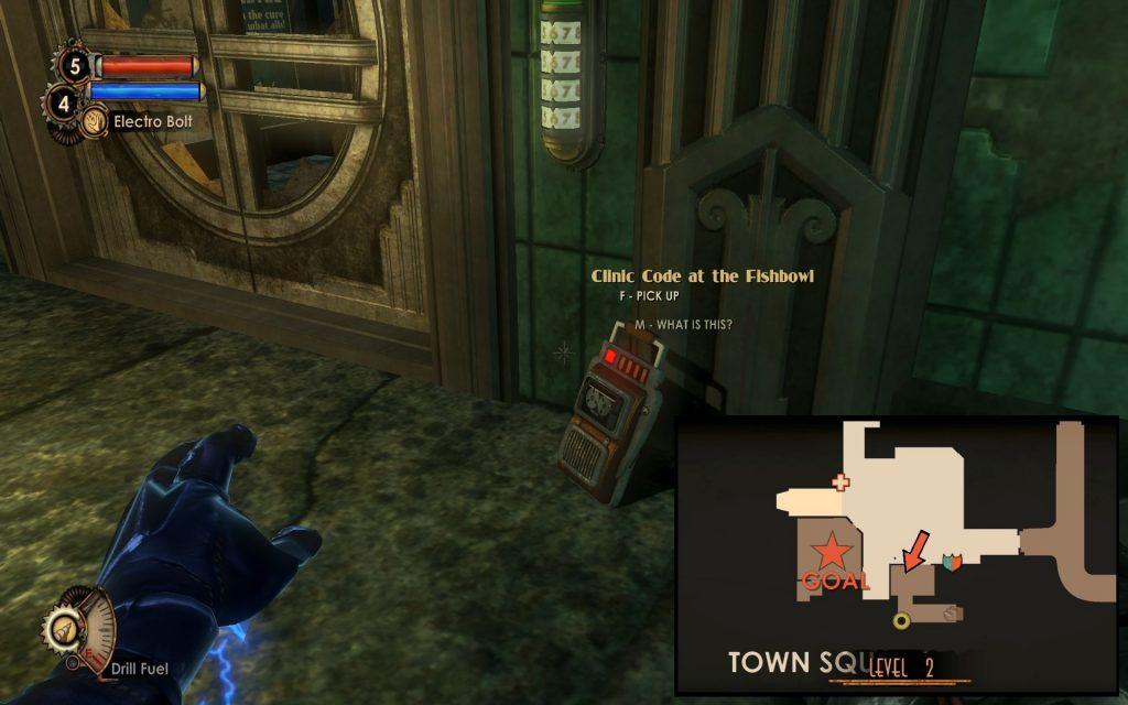 bioshock 2 door codes