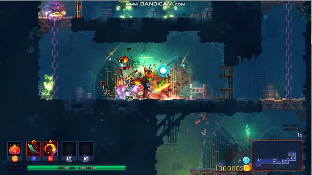 dead cells cheat tables