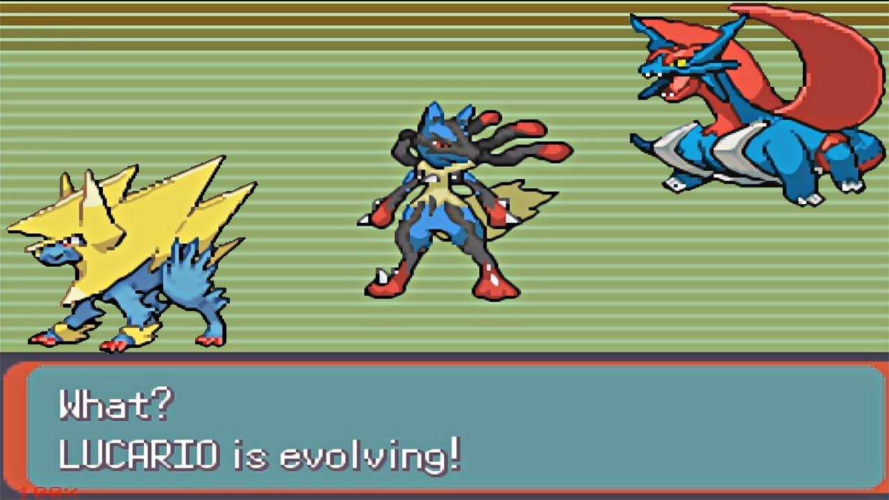 pokemon glazed mega evolve