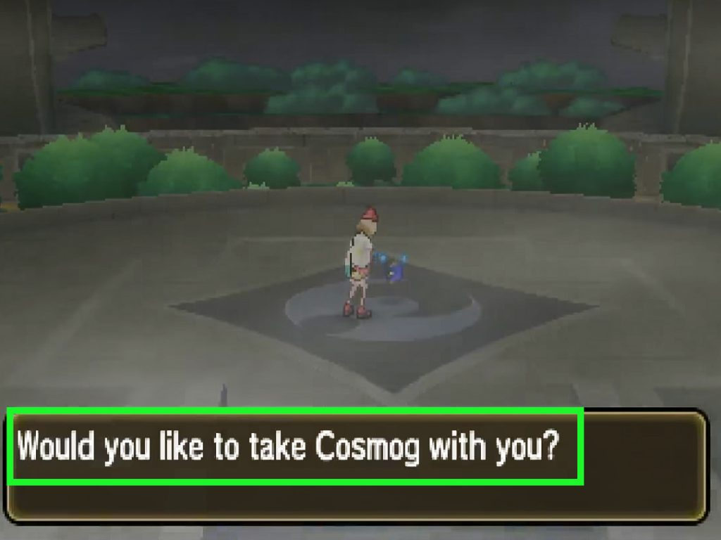 cosmog pokemon ultra moon