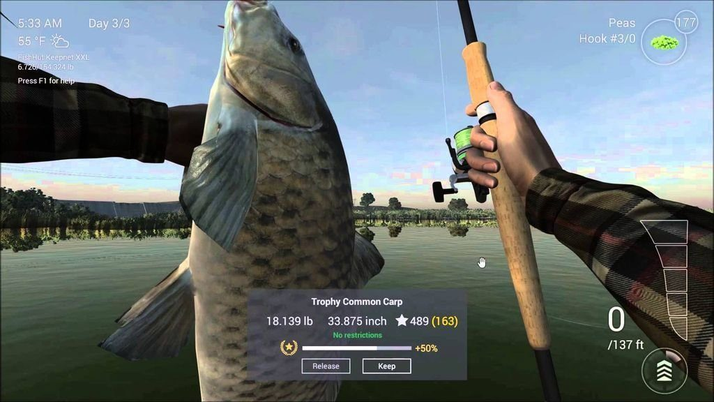 fishing planet for linux