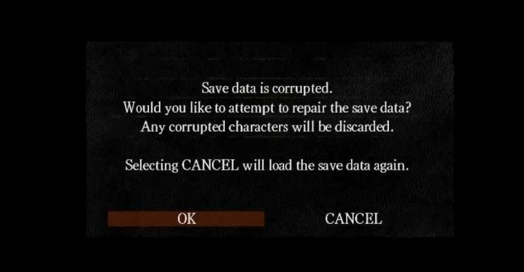 fixing dark souls 3 failed to load save data