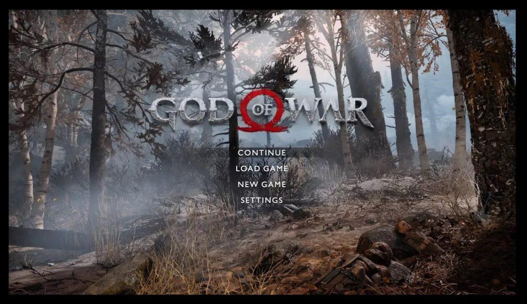 god of war black border fix